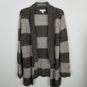 Christopher & Banks XL Open Front Cardigan